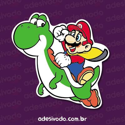 Adesivo do Mario
