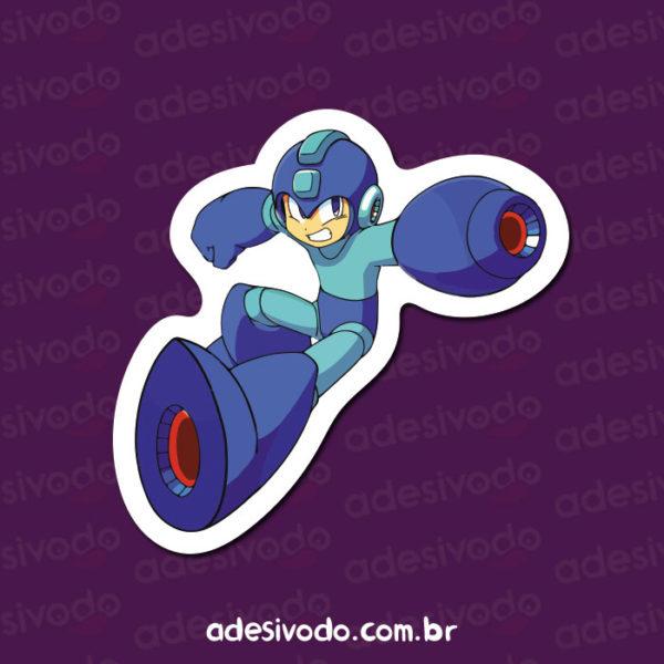 Adesivo do Mega Man