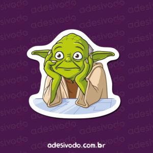 Adesivo do Mestre Yoda