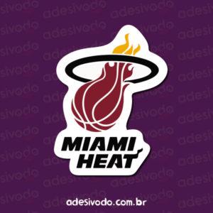 Adesivo do Miami Heat