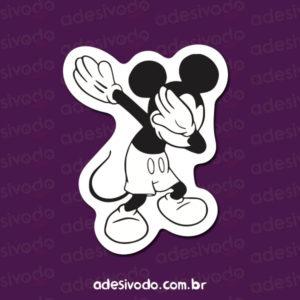 Adesivo do Mickey dab