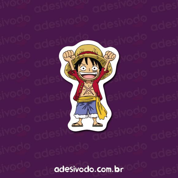 Adesivo do Monkey D. Luffy One Piece