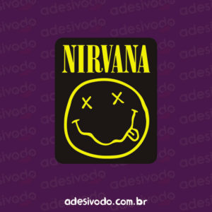 Adesivo do Nirvana