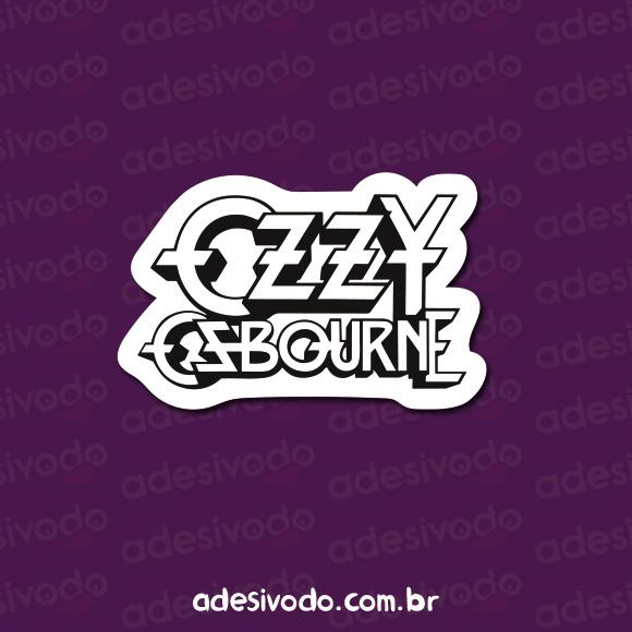 Adesivo do Ozzy Osbourne