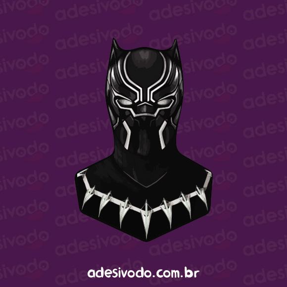 Adesivo do Pantera Negra