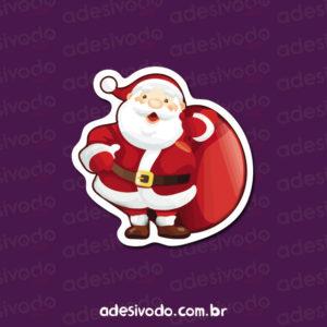 Adesivo do Papai Noel