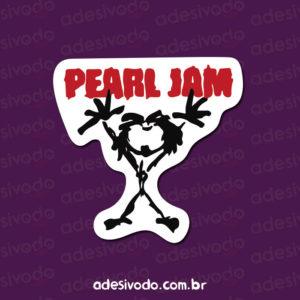 Adesivo do Pearl Jam