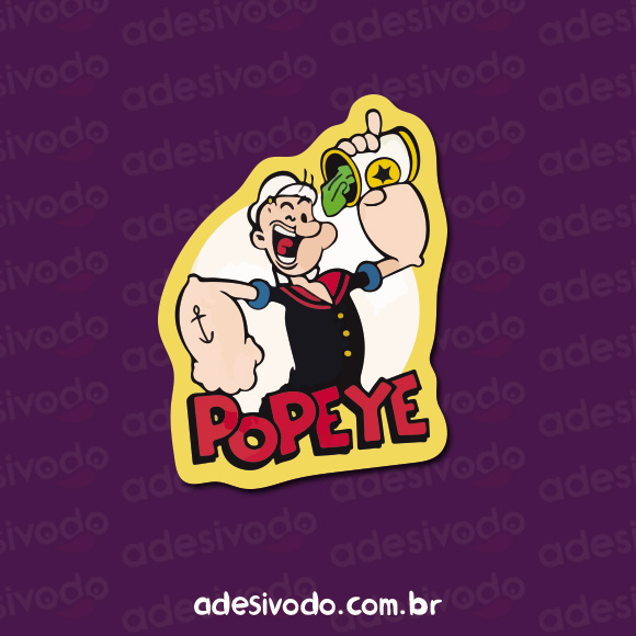 Adesivo do Popeye