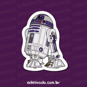 Adesivo do R2-D2 Star Wars