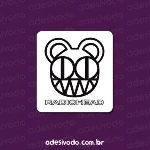 Adesivo do Radiohead