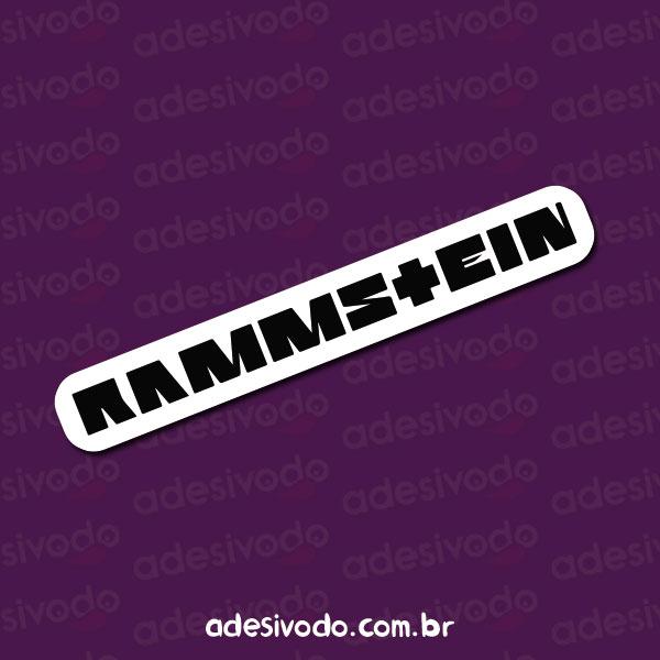 Adesivo do Rammstein