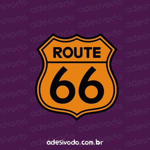 Adesivo do Route 66