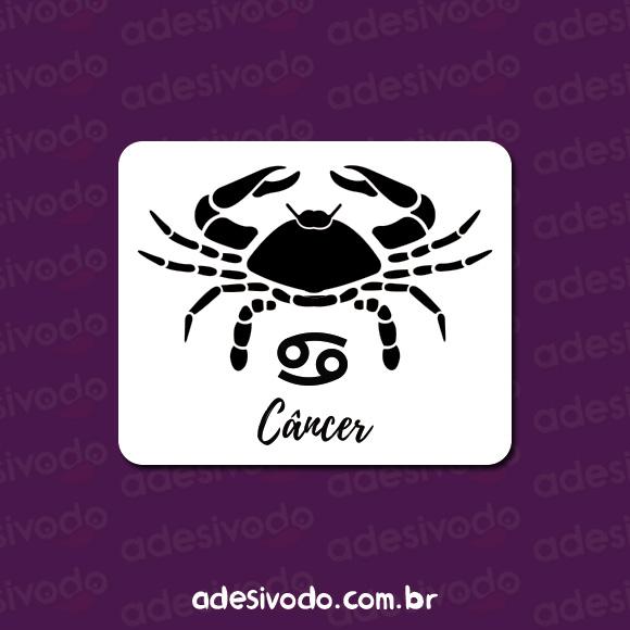 adesivo do signo cancer
