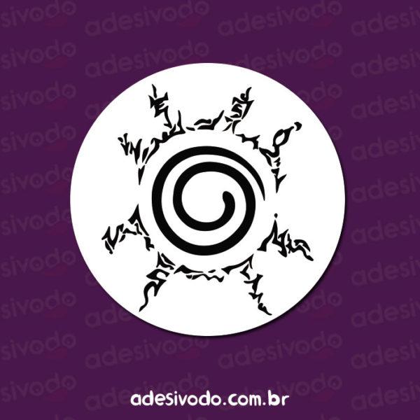 Adesivo do símbolo do selo do Naruto