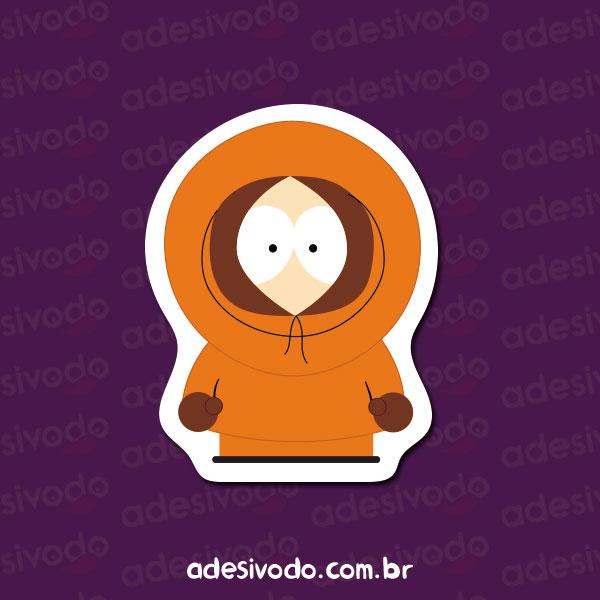 Adesivo do South Park Kenny McCormick