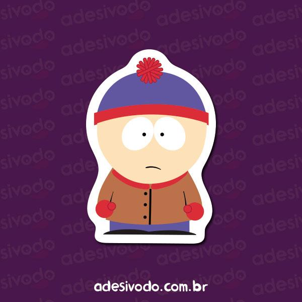 Adesivo do South Park Stan Marsh