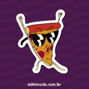 Adesivo Do Steve Pizza