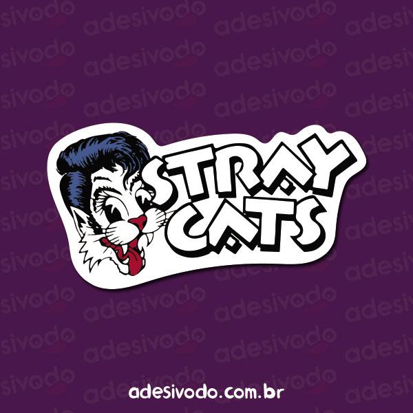 Adesivo do Stray Cats