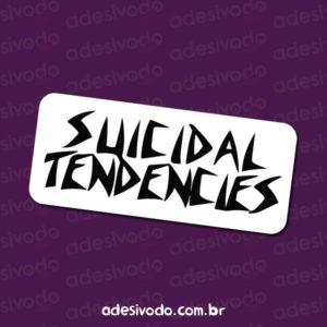Adesivo do Suicidal Tendencies