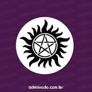 Adesivo do Supernatural anti-possessão