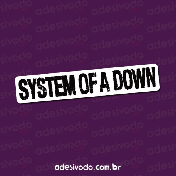 Adesivo do System Of A Down