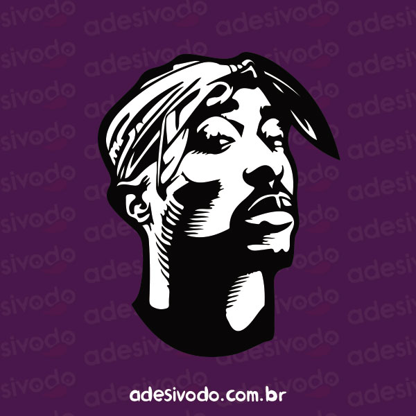Adesivo do Tupac