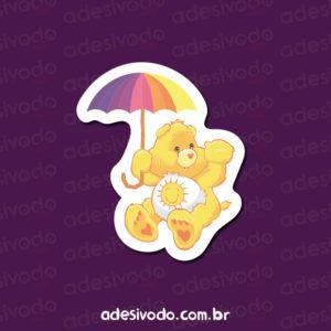Adesivo do Ursinho Carinhoso amarelo