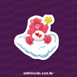 Adesivo do Ursinhos Carinhosos rosa