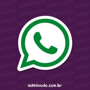Adesivo do WhatsApp