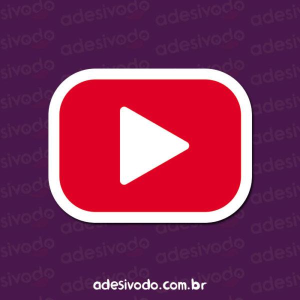 Adesivo do YouTube