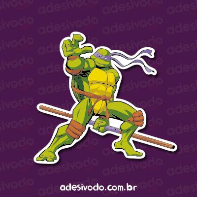 Adesivo Tartarugas Ninjas Donatello