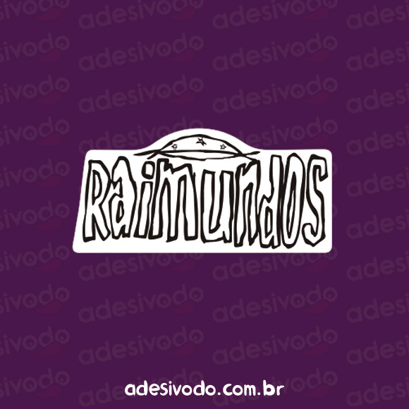 Adesivo dos Raimundos Cangaço