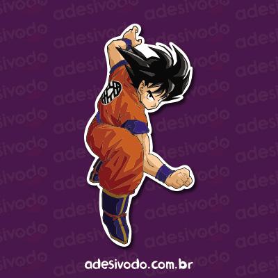 Adesivo do Dragon Ball Goku