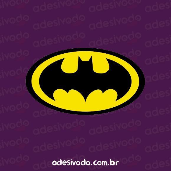 Adesivo Escudo do Batman logotipo