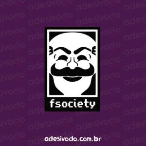 Adesivo fSociety (Mr. Robot)