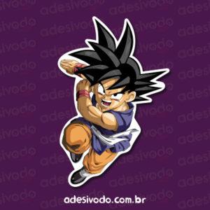Adesivo Goku Dragon Ball