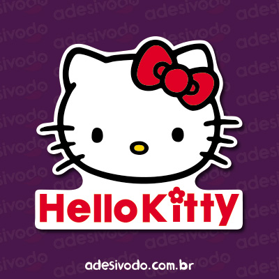 Adesivo da Hello Kitty