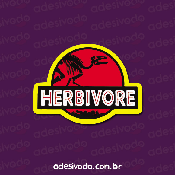 Adesivo Herbivore