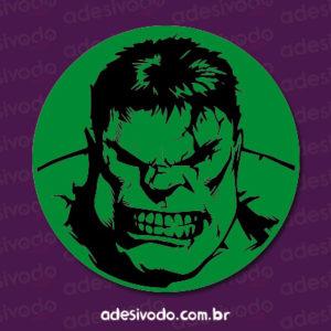 Adesivo do Hulk