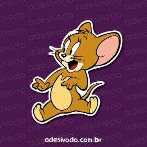 Adesivo do Jerry e Tom