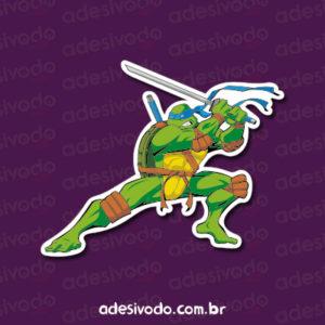 Adesivo Tartarugas Ninjas Leonardo