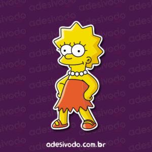 Adesivo Lisa Simpson