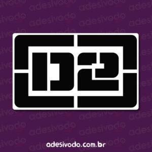 Adesivo do Marcelo D2