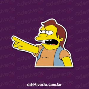 Adesivo Nelson Simpsons