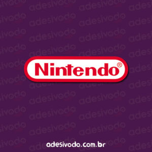 Adesivo Logotipo da Nintendo