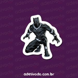 Adesivo Pantera Negra