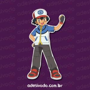 Adesivo do Ash Pokemon