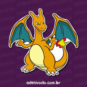 Adesivo do Charizard Pokémon