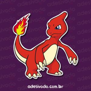 Adesivo do Charmeleon Pokémon