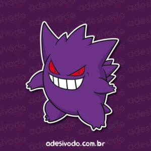 Adesivo do Gengar Pokémon